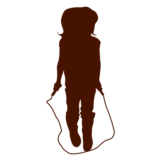 Girl jumping rope Transparent PNG