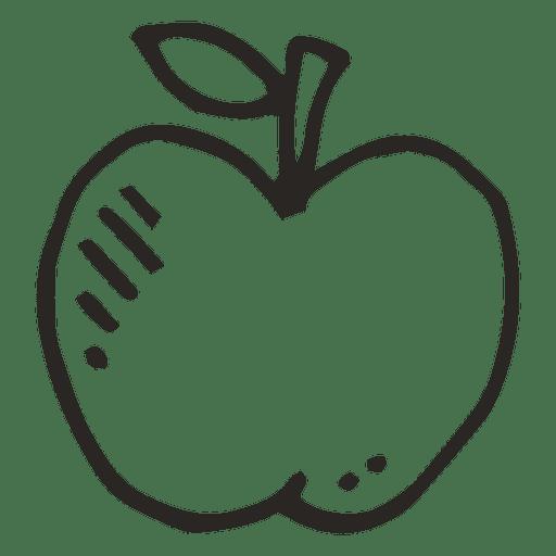 Comida de frutas de maçã Transparent PNG