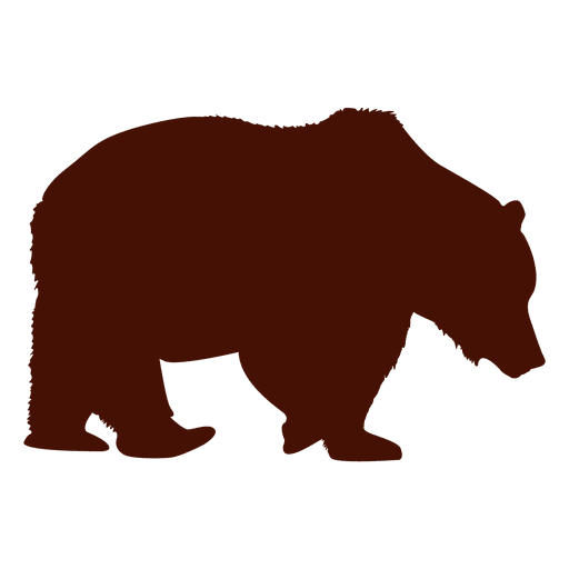 bear silhouette transparent png amp svg vector