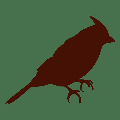 Silueta de pájaro mascota