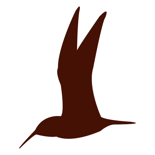 Bird silhouette hummingbird Transparent PNG