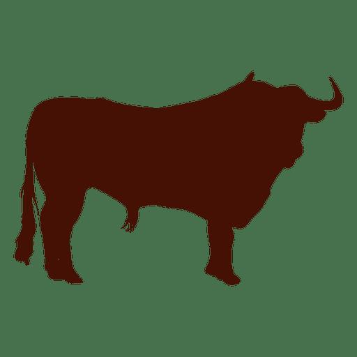 Silueta de toro