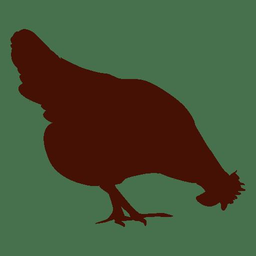 Silueta de pollo