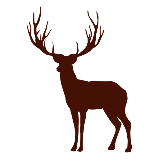 Deer silhouette Transparent PNG