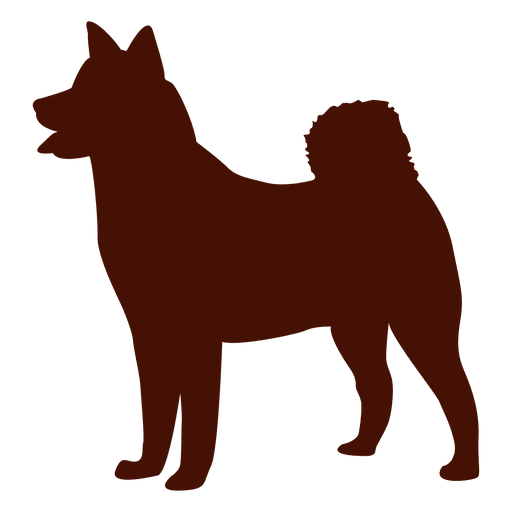Dog silhouette puppy Transparent PNG