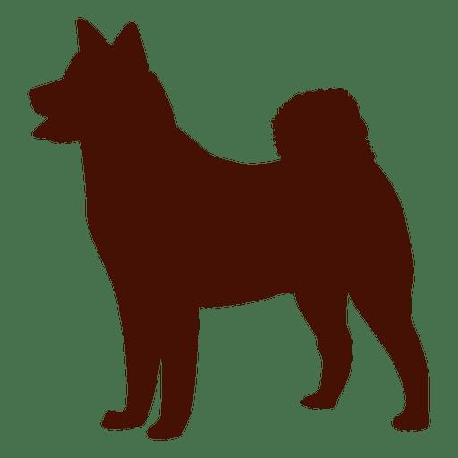 Dog silhouette puppy