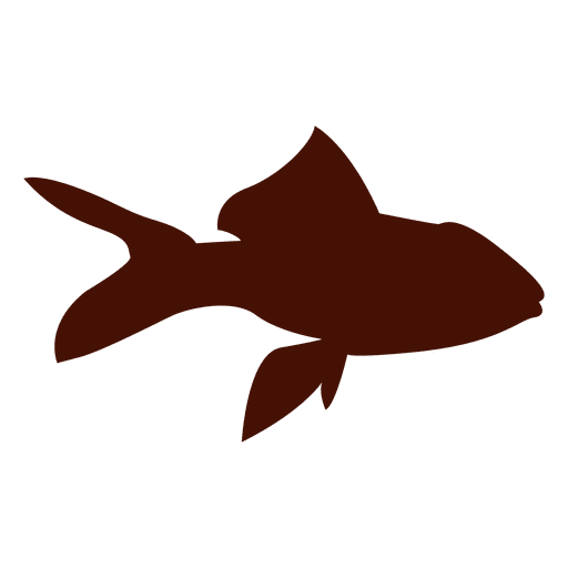 Fish pet silhouette Transparent PNG