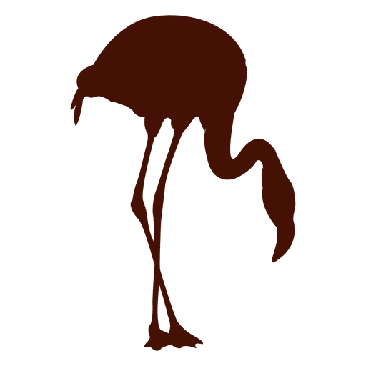 Flamingo silhouette Transparent PNG