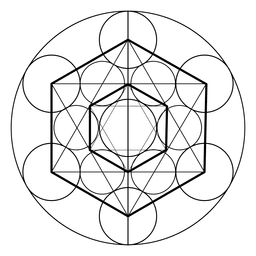 Hexagon heilige Geometrie