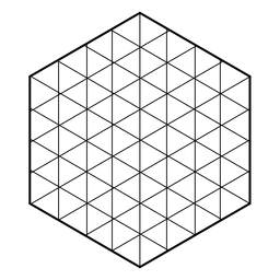 Hexagonal grid sacred geometry