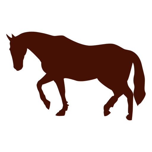 Pferd Trab Silhouette Transparent PNG