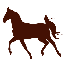 Pferd Farm Trot Silhouette