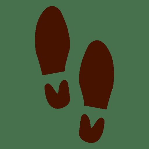 Pegadas de sapatos humanos Transparent PNG
