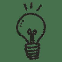 Idea light bulb school