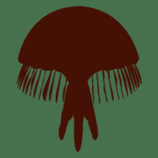 Sea Jellyfish silhouette