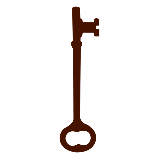 Key silhouette antique old Transparent PNG