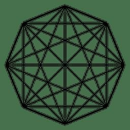 Geometria sagrada da matriz