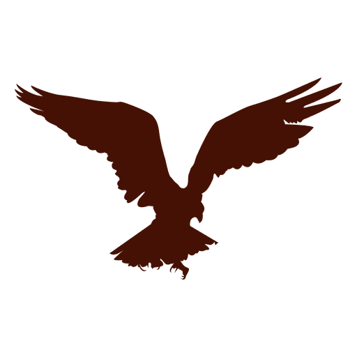 Bird Of Prey Attacking Silhouette Transparent Png Svg Vector File