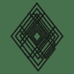 Geometria sagrada de losango