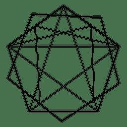 Geometria sagrada poligonal
