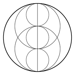 Sacred geometry with circles