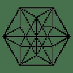 Geometria sagrada ilustrada