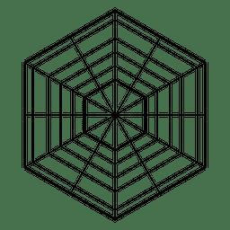 hexágono geometría sagrada