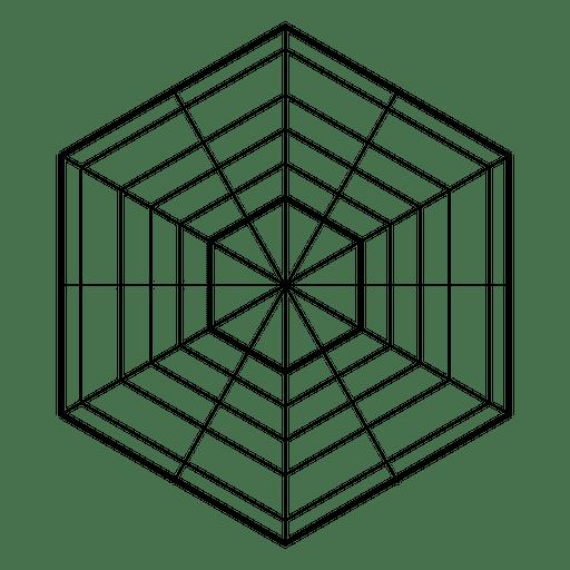 Sacred geometry hexagon Transparent PNG