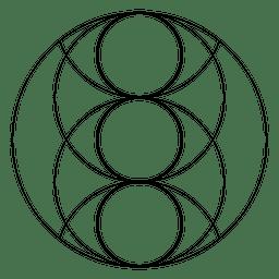 Heilige Geometrie Piscis