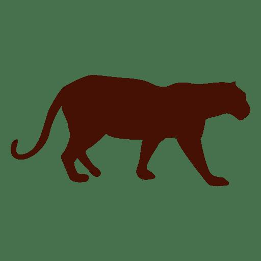 Silhouette panther pet Transparent PNG