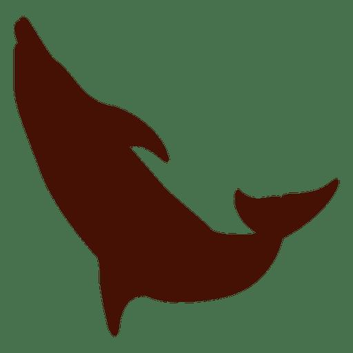 golfinho pular costas silueta baixar png svg transparente