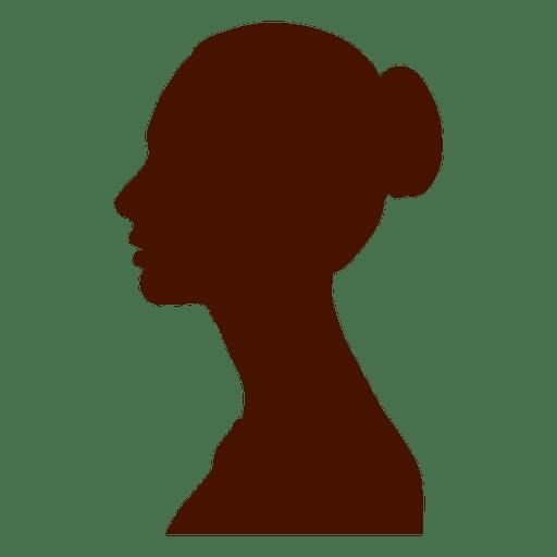 Mujer perfil silueta eastrn europa Transparent PNG