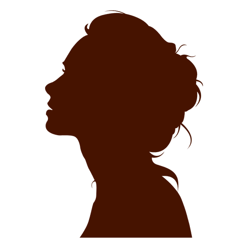 Woman profile silhouette sexy Transparent PNG