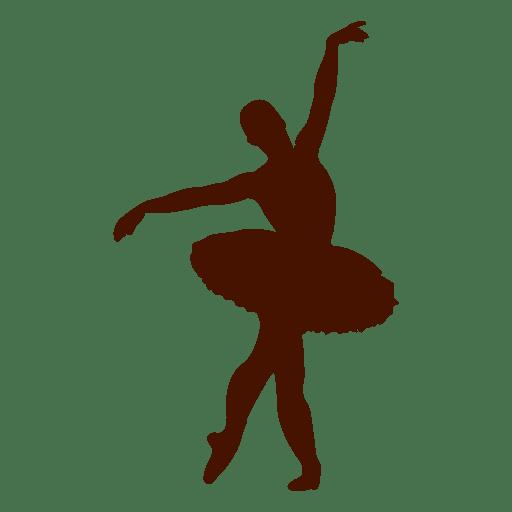 Ballet dancer posing tutu Transparent PNG