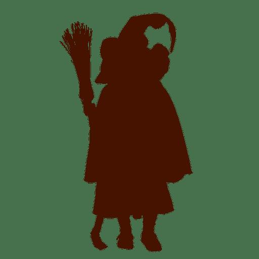 Menina, dia das bruxas, traje, silueta Transparent PNG