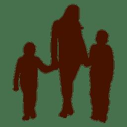 Madre de niño familia
