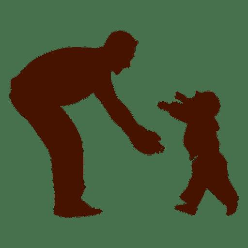 Pai, com, criança, família Transparent PNG
