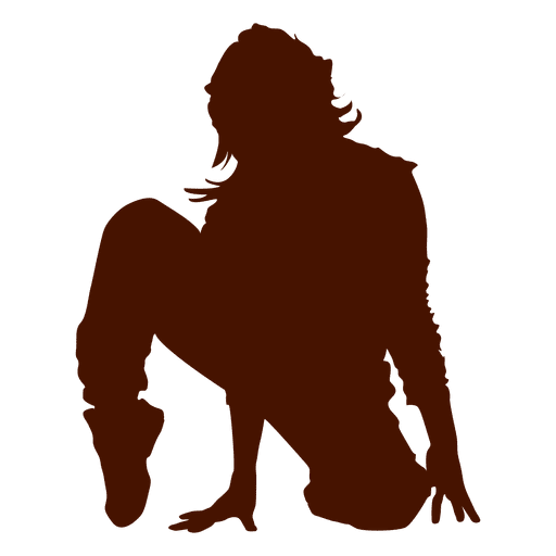 Dancer break dance silhouette 1 Transparent PNG