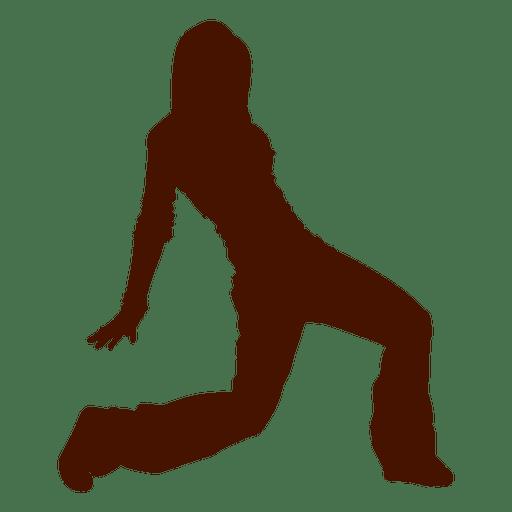 Bailarina bailarina bailar silueta Transparent PNG
