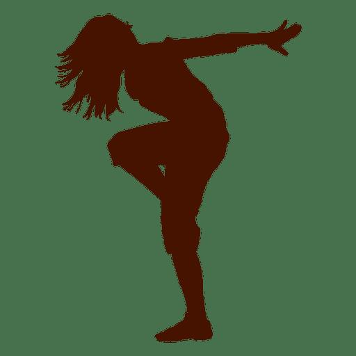Bailarina bailarina bailar silueta 2 Transparent PNG