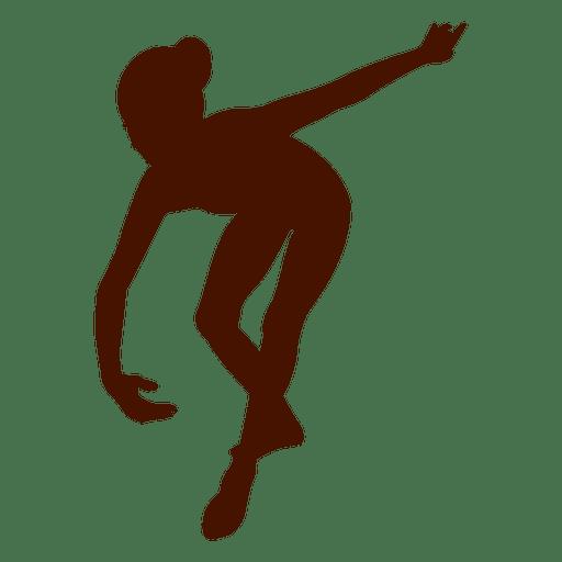 Female dancer silhouette 1