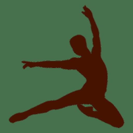 Female Dancer Silhouette 3 Transparent Png Svg Vector File