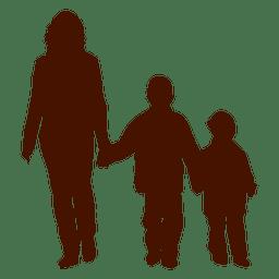 Niño niño madre familia