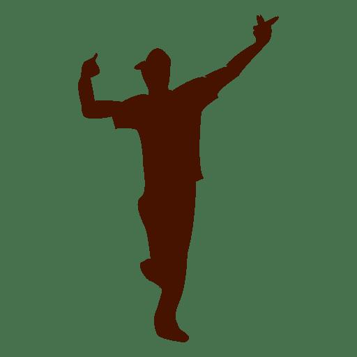 Guy Dancing Sihouette 3