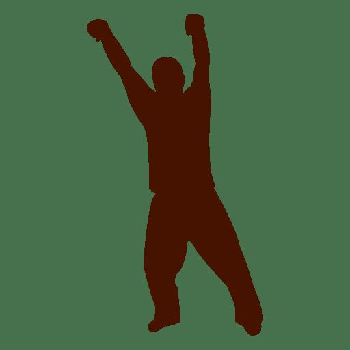 Mann tanzen Silhouette 4 Transparent PNG