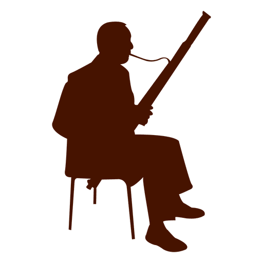 Music instrument musician silhouette