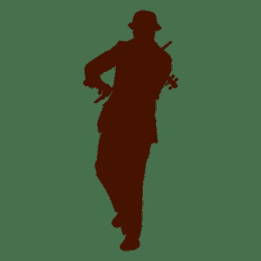 Músico violino com silhueta de chapéu Transparent PNG