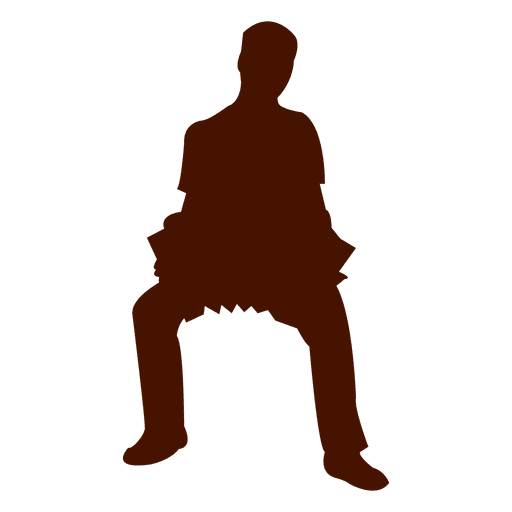Musician music accordion silhouette Transparent PNG