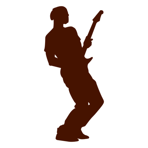 Musica musica guitarra silueta Transparent PNG