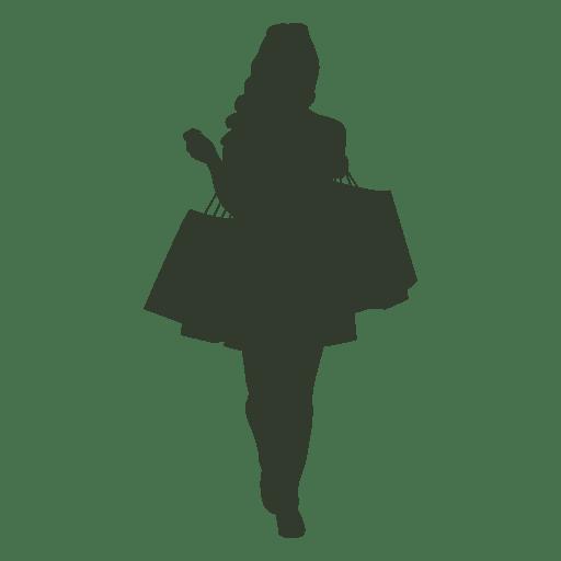 Woman shopping bag Transparent PNG